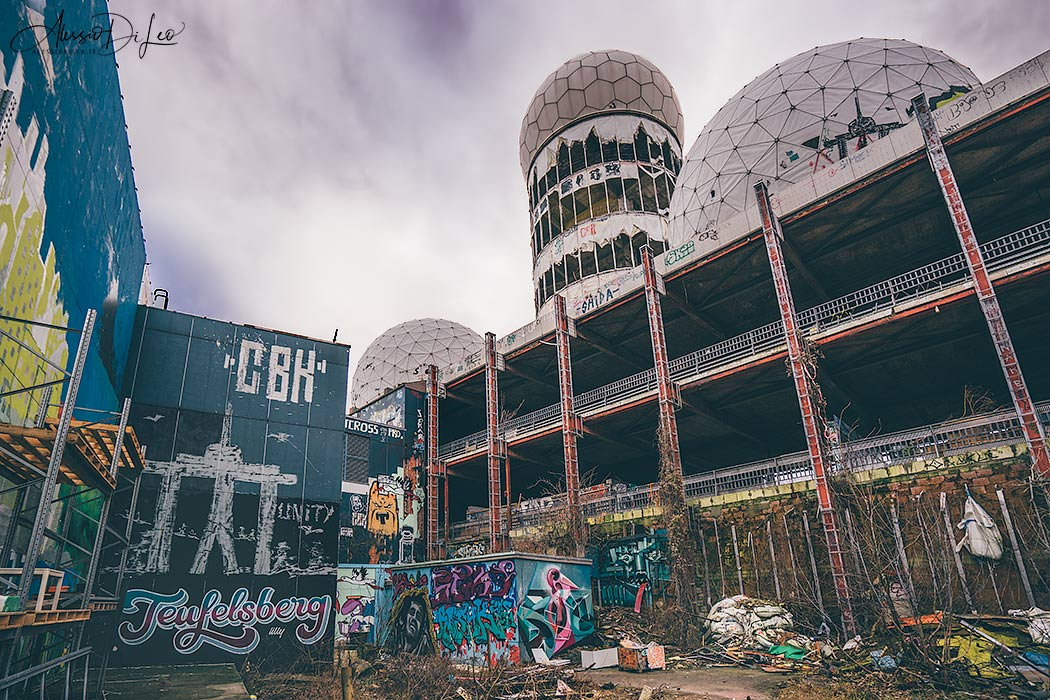 Teufelsberg Berlino