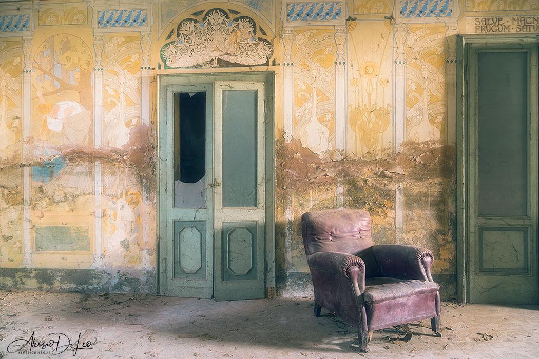 affreschi art nouveau